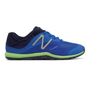Men's New Balance Blue Minimus Vibram Sole Sneaker